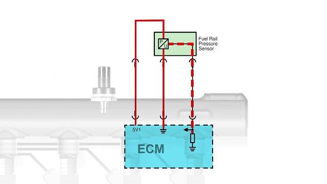 sensor de presión de riel FRP